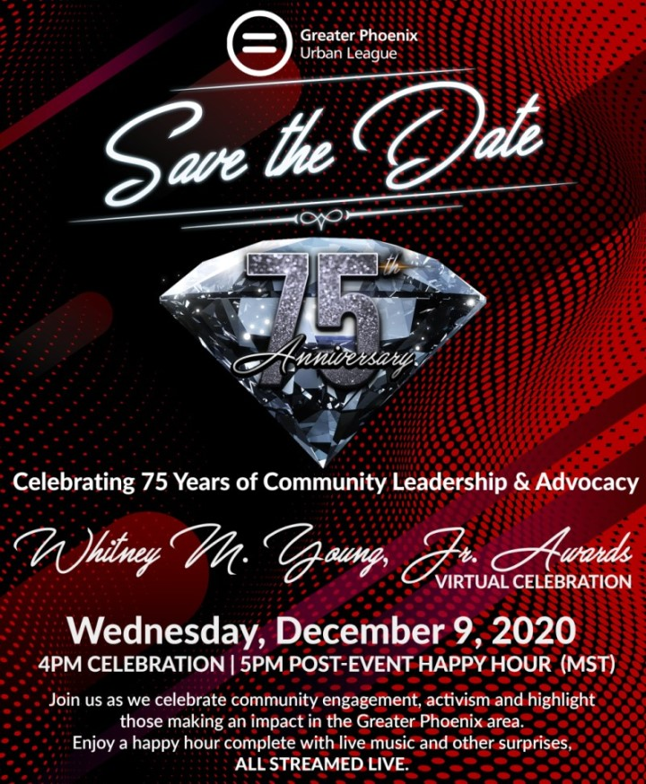 Save the date! Whitney M. Young, Jr. Virtual Award Celebration